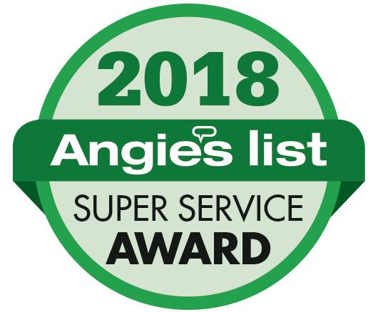 Angie's Super Service Award 2018